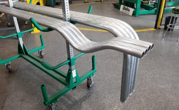 Walters Pipe Bends on cart1