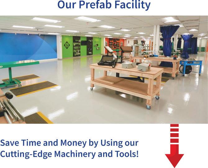 Our Prefab Facility