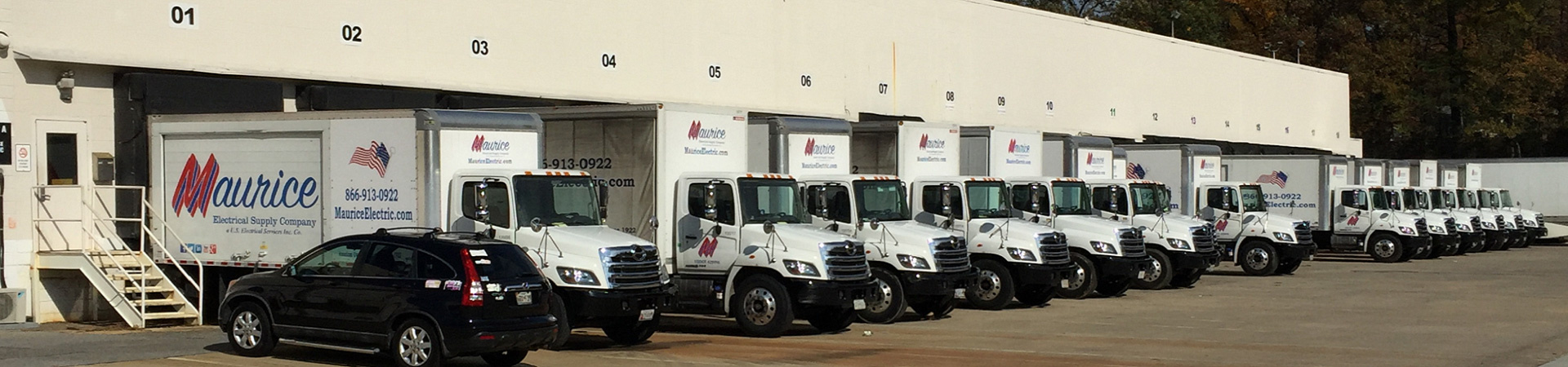 Our Fleet Of Delivery Trucks Have An Excellent Record Of Timely Deliveries  For Our Customers